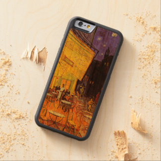 Vincent Van Gogh Cafe Terrace At Night Fine Art Carved Cherry iPhone 6 Bumper Case