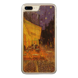 Vincent Van Gogh Cafe Terrace At Night Fine Art Carved iPhone 8 Plus/7 Plus Case