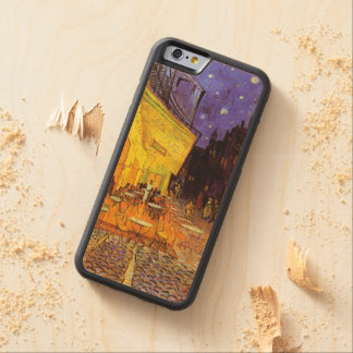 Vincent Van Gogh Cafe Terrace At Night Fine Art Carved Maple iPhone 6 Bumper Case