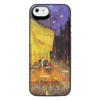Vincent Van Gogh Cafe Terrace At Night Fine Art iPhone SE/5/5s Battery Case