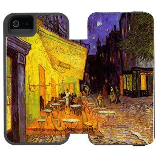 Vincent Van Gogh Cafe Terrace At Night Fine Art iPhone SE/5/5s Wallet Case