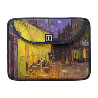Vincent Van Gogh Cafe Terrace At Night Fine Art MacBook Pro Sleeve