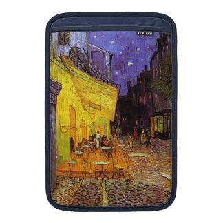 Vincent Van Gogh Cafe Terrace At Night Fine Art MacBook Sleeve