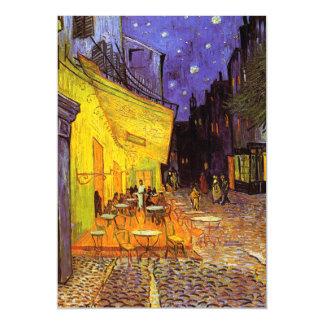 Vincent Van Gogh Cafe Terrace At Night Fine Art Magnetic Card