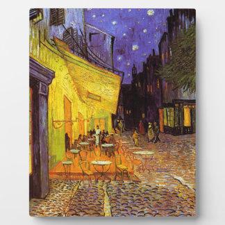 Vincent Van Gogh Cafe Terrace At Night Fine Art Plaque