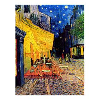 Vincent Van Gogh - Cafe Terrace At Night Fine Art Postcard