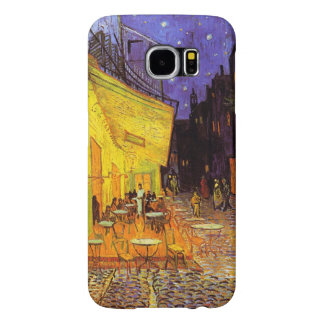 Vincent Van Gogh Cafe Terrace At Night Fine Art Samsung Galaxy S6 Cases