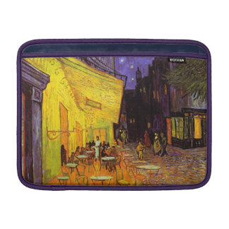 Vincent Van Gogh Cafe Terrace At Night Fine Art Sleeve For MacBook Air
