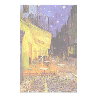 Vincent Van Gogh Cafe Terrace At Night Fine Art Stationery