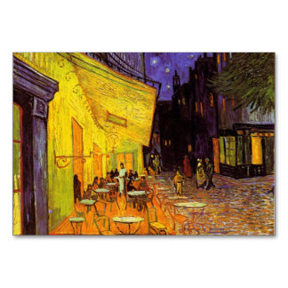 Vincent Van Gogh Cafe Terrace At Night Fine Art Table Cards
