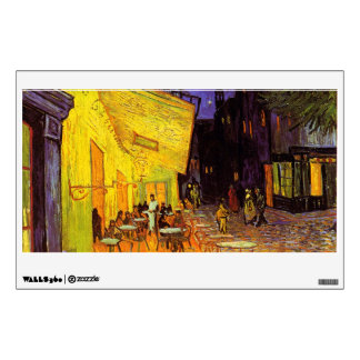 Vincent Van Gogh Cafe Terrace At Night Fine Art Wall Decal