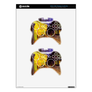 Vincent Van Gogh Cafe Terrace At Night Fine Art Xbox 360 Controller Decal