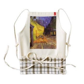 Vincent Van Gogh Cafe Terrace At Night Fine Art Zazzle HEART Apron