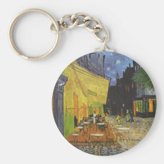 Vincent Van Gogh - Cafe Terrace at Night Keychain