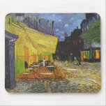 Vincent Van Gogh - Cafe Terrace at Night Mouse Mats