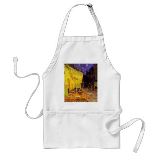 Vincent Van Gogh Cafe Terrace At Night Painting Aprons