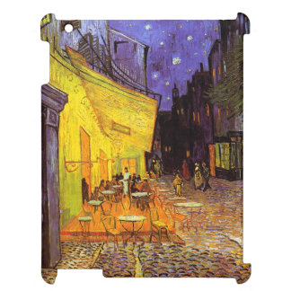 Vincent Van Gogh Cafe Terrace At Night Painting iPad Covers