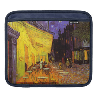 Vincent Van Gogh Cafe Terrace At Night Painting iPad Sleeve