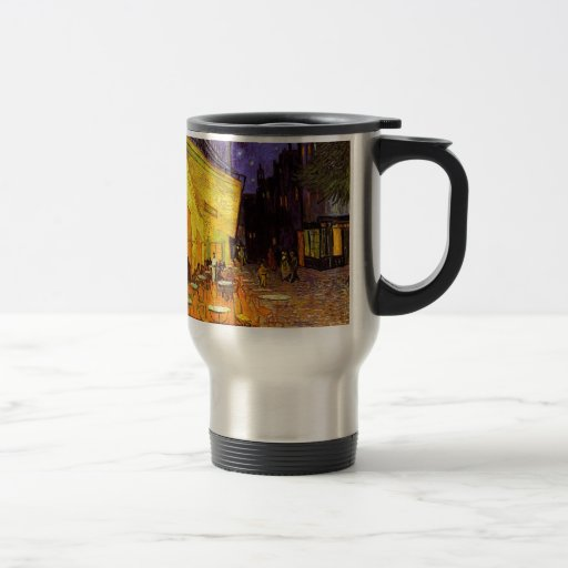 Vincent Van Gogh Cafe Terrace At Night Painting Coffee Mugs