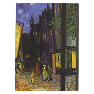 Vincent Van Gogh Cafe Terrace At Night Vintage Art iPad Cases