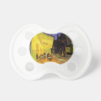 Vincent Van Gogh Cafe Terrace At Night Vintage Art Baby Pacifier