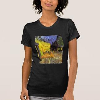 Vincent Van Gogh Cafe Terrace At Night Vintage Art T-Shirt