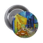 Vincent Van Gogh - Cafe Terrace Buttons