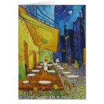 Vincent Van Gogh - Cafe Terrace Card