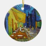 Vincent Van Gogh - Cafe Terrace Christmas Ornament