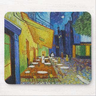 Vincent Van Gogh - Cafe Terrace Mouse Pad