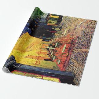 Vincent van Gogh Cafe Terrace on Place du Forum Wrapping Paper