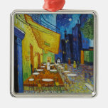 Vincent Van Gogh - Cafe Terrace Christmas Ornaments
