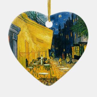 Vincent van Gogh | Cafe Terrace, Place du Forum Ceramic Ornament
