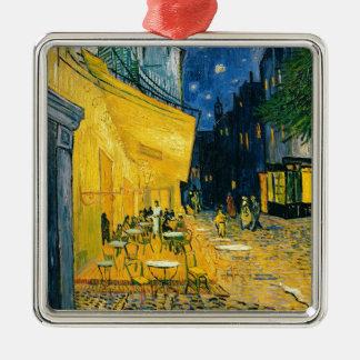 Vincent van Gogh | Cafe Terrace, Place du Forum Metal Ornament