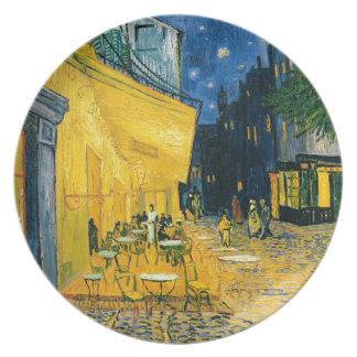 Vincent van Gogh   Cafe Terrace, Place du Forum Plate