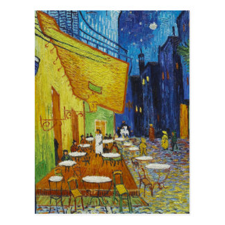 Vincent Van Gogh - Cafe Terrace Postcard