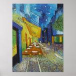 Vincent Van Gogh - Cafe Terrace Posters