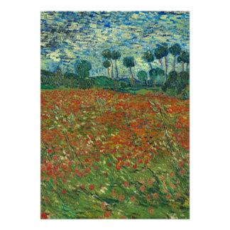 Vincent van Gogh - campo de la amapola