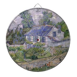 Vincent van Gogh - casas en Auvers Tabla Dardos