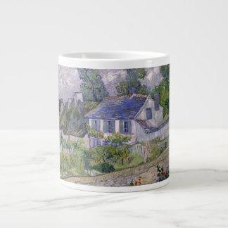 Vincent van Gogh - casas en Auvers Taza Jumbo