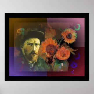 Vincent van Gogh celebration Poster