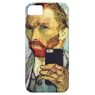 Vincent Van Gogh Cellphone Selfie Self Portrait iPhone SE/5/5s Case