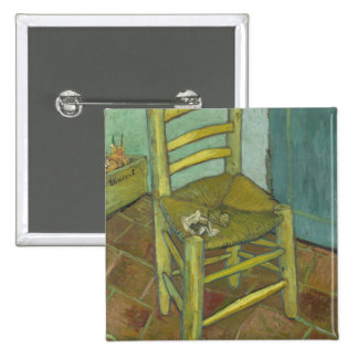 Vincent Van Gogh - Chair with Bandage Button