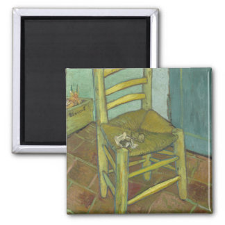 Vincent Van Gogh - Chair with Bandage Magnet