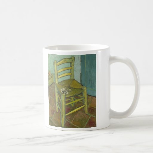 Vincent Van Gogh - Chair with Bandage Classic White Coffee Mug