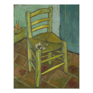 Vincent Van Gogh - Chair with Bandage Poster