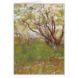 Vincent Van Gogh -  Cherry tree Card