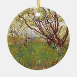 Vincent Van Gogh -  Cherry tree Ornaments