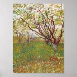 Vincent Van Gogh -  Cherry tree Poster