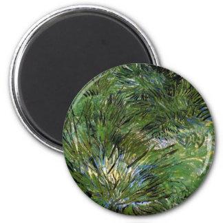 Vincent Van Gogh - Clumps Of Grass Fine Art Magnet